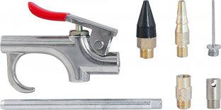 Пистолет продувочный с насадками в наборе, 7 предметов ABGK7