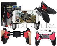 Джойстик геймпад игровой контроллер цельный регулирующийся со съемными 3 частями, подставкой, 5 в 1, фото 1