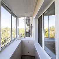 Алюминиевые окна на балкон, фото 1