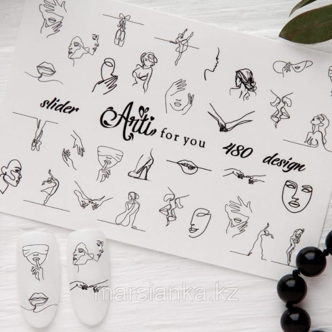 Слайдер дизайн Arti For You №480