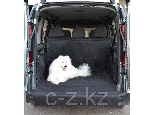"""Защитная накидка в багажник """"черного"""" цвета, фото 2"""
