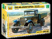 """Советский армейский грузовик """"Полуторка"""" (ГАЗ-АА) Сборная модель 1\35, фото 1"""