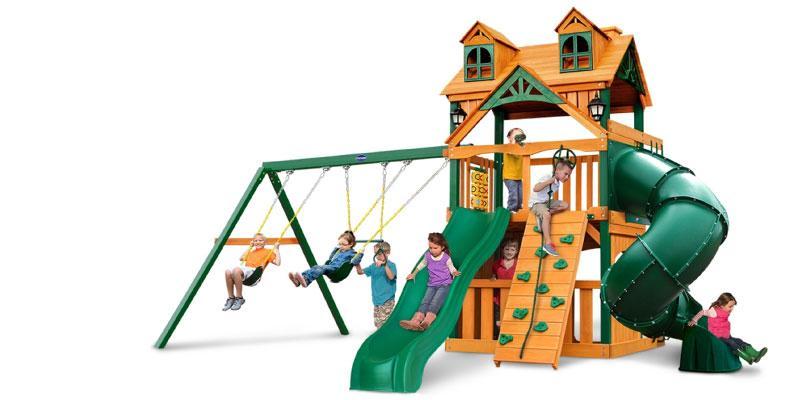 Детская игровая площадка Playnation Альпинист Ривьера Клабхауз