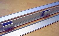 Профиль алюминиевый зажимной для перегородок