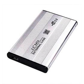 Внешний бокс BET-S254 [USB2.0] для 2.5'' SATA HDD, Metal