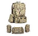 Рюкзак тактический 42 литра, с системой подсумков., фото 5