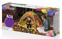 Детская надувная палатка, Kids Ball Pit & Play Land, Bestway 68080, размер 112x112x90 см, фото 1