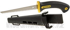 "Ножовка STAYER ""PROFI"" по гипсокартону, 3D-заточка, 2-комп. ручка, чехол, 3.0х150мм/8TPI"