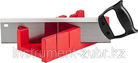 """Стусло  + ножовка Зубр с усиленным обушком, стусло MIDI-PLUS, 2,5"""", ножовка 295мм"""