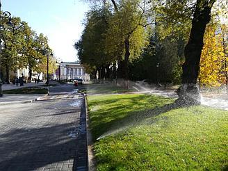 Пешеходная улица Панфилова 1