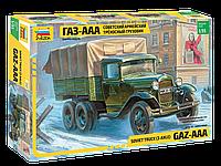 Советский армейский трехосный грузовик (ГАЗ-ААА), сб модель, 1:35, фото 1
