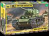 Советский тяжелый танк КВ-1, сборная модель, 1:35