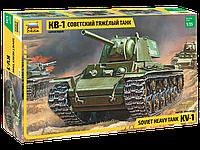 Советский тяжелый танк КВ-1, сборная модель, 1:35, фото 1