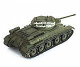 Советский средний танк Т-34/76 (обр. 1942 г.), сб модель, 1:35, фото 5