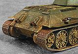 Советский средний танк Т-34/76 (обр. 1942 г.), сб модель, 1:35, фото 6