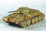 Советский средний танк Т-34/76 (обр. 1942 г.), сб модель, 1:35, фото 7