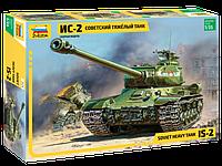 Советский тяжёлый танк ИС-2, сборная модель, 1:35, фото 1