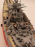"Немецкий линкор ""Бисмарк"", сб модель, 1:400, фото 2"