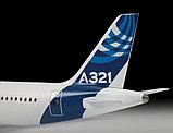 Пассажирский авиалайнер Аэробус А-321, сборная модель, 1\144, фото 4