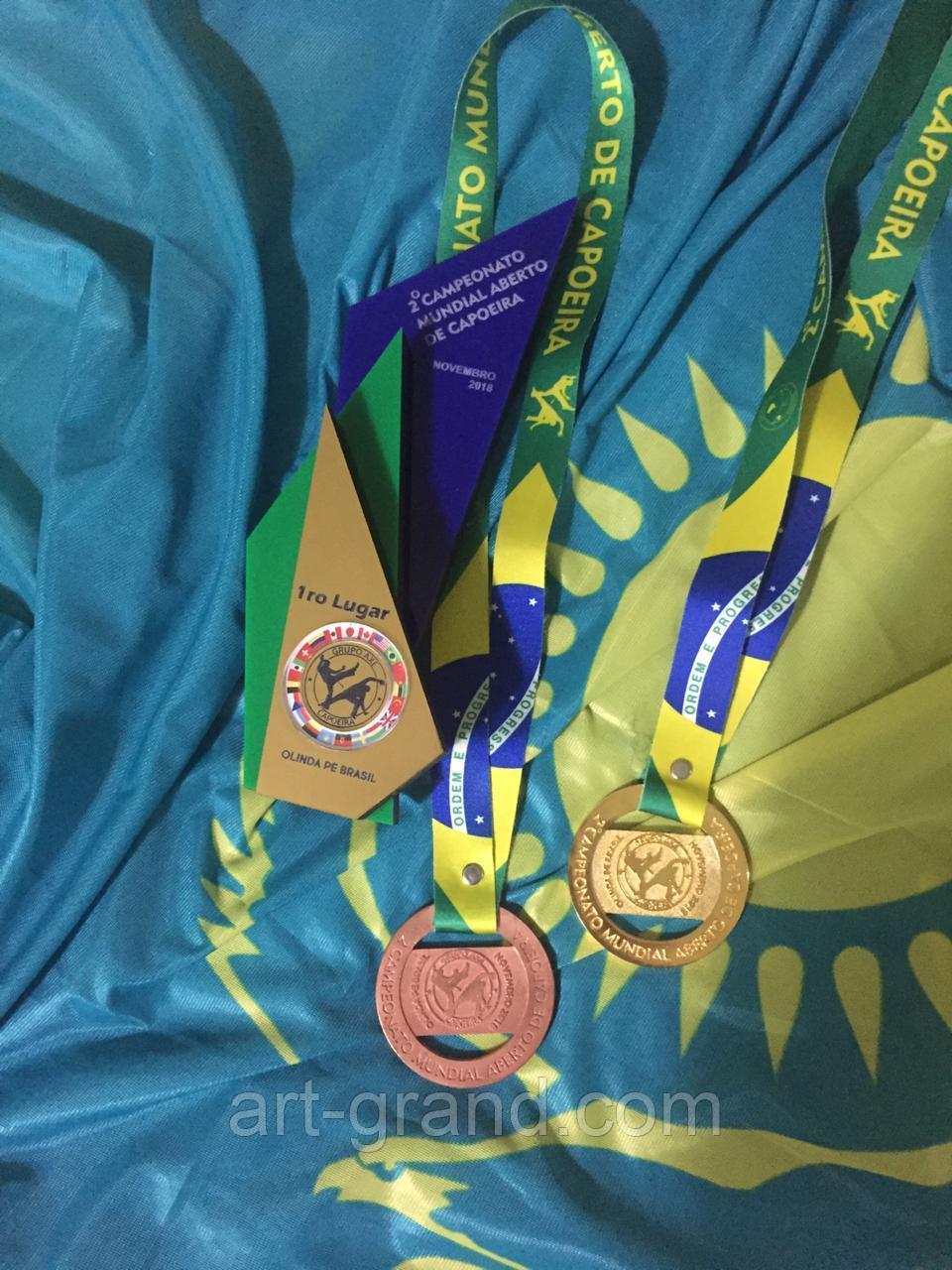 Изготовление кубков и медалей