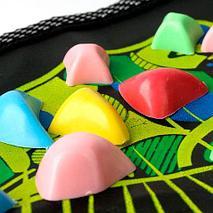 Дорожка для массажа стоп с камнями «Морская галька» MASSAGE ROAD (Разноцветная), фото 3