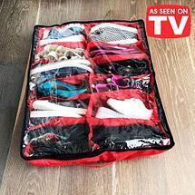 Органайзер для 12 пар обуви SHOES ORGANIZER PRO с вентиляцией (Красный), фото 2