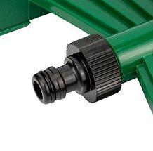 Дождеватель-разбрызгиватель импульсный на подставке с регулировкой для полива, фото 3