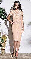 Платье Lissana-3709, бежевый, 50