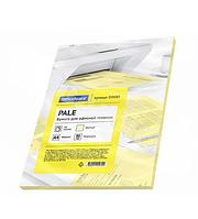 Бумага цветная OfficeSpace Pale, А4, 80 г/кв.м., 50 л., желтая