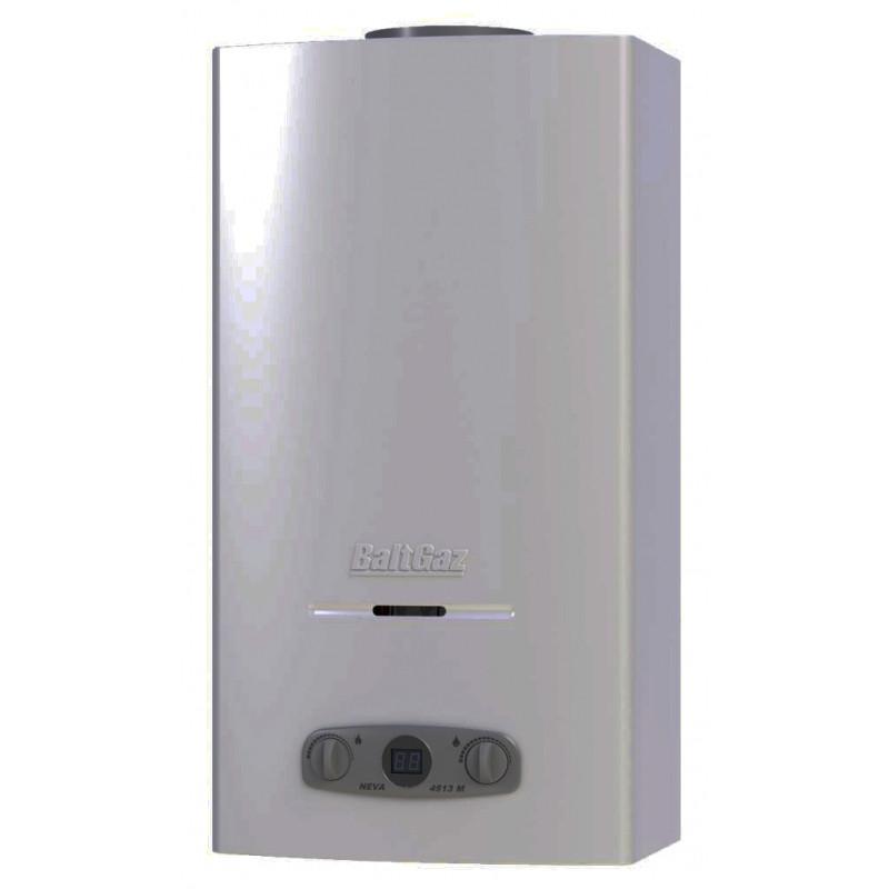 BaltGaz NEVA 4513 М серебро газовый водонагреватель