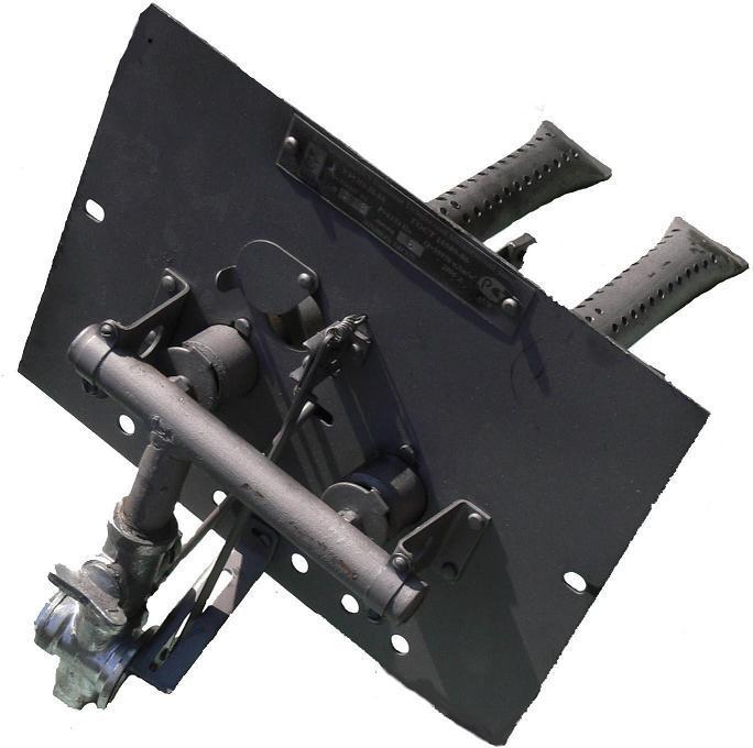 Газовая горелка УГОП-16 двухрожковая, нижний