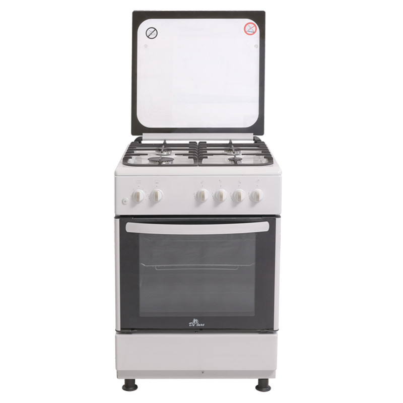 Газовая плита De Luxe 606040.24г 001 (кр) ЧР бел