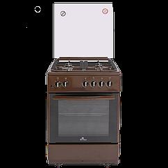 Газовая плита De Luxe 606040.24г 002 (кр) ЧР коричневая