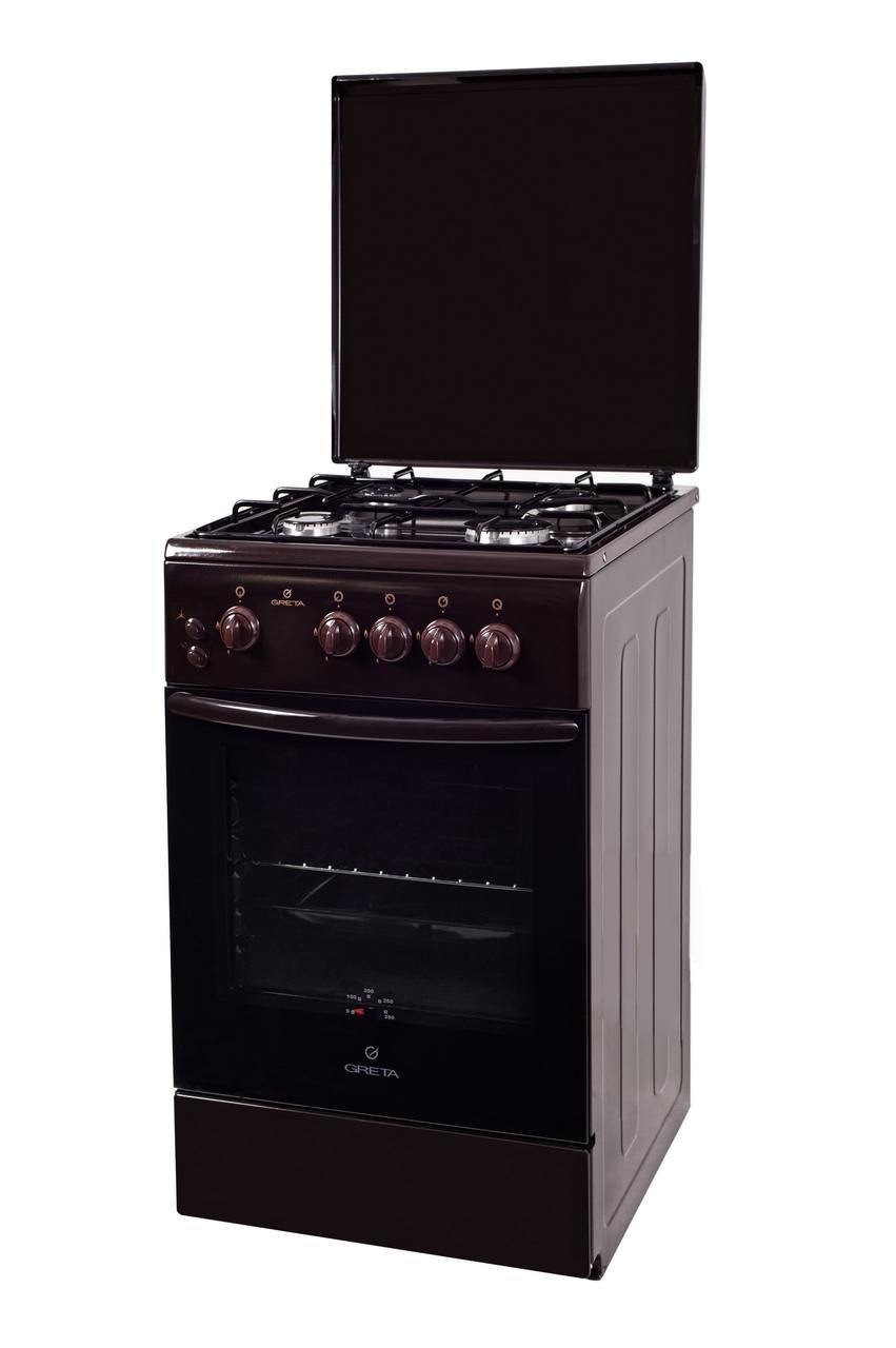 Плита газовая Greta 1470 00-06 коричневая