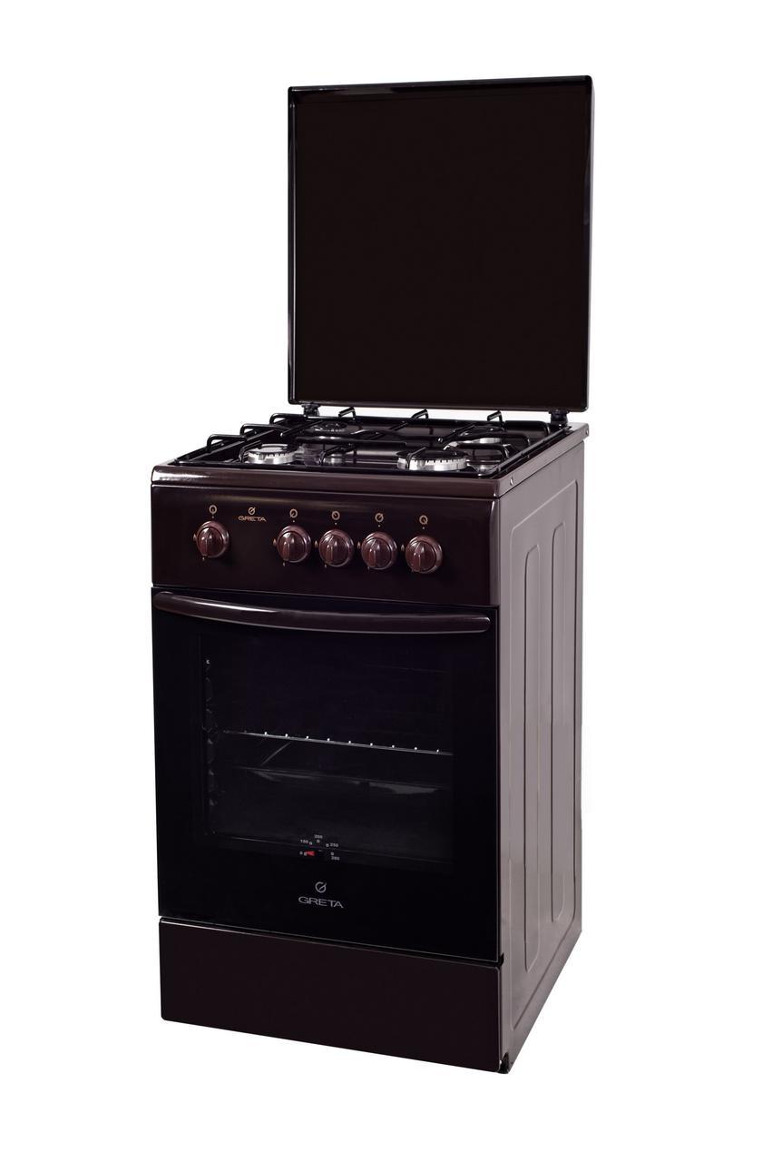 Плита газовая Greta 1470 00-16 (коричневая)