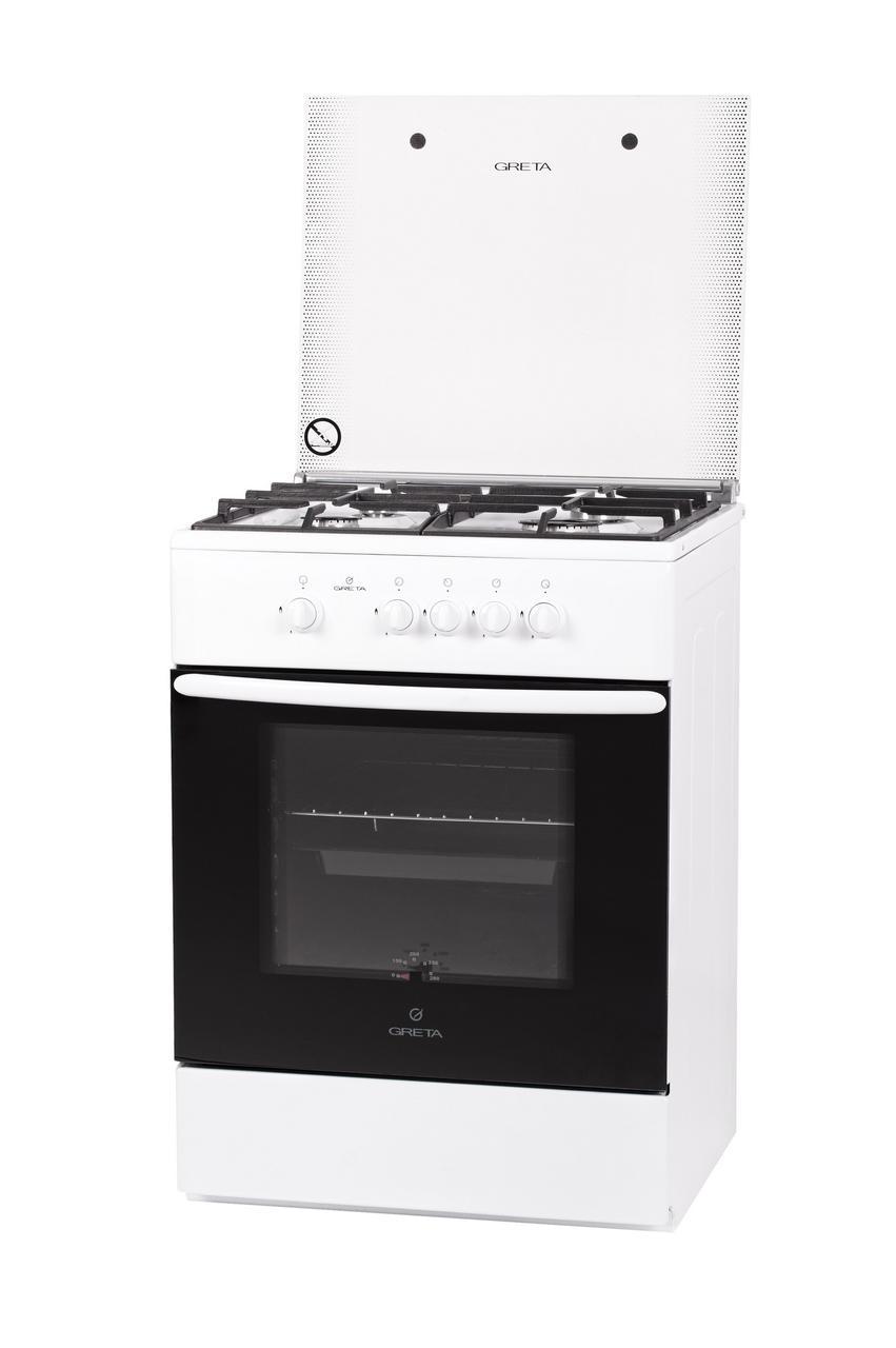 Плита газовая Greta модель 600-16 белая