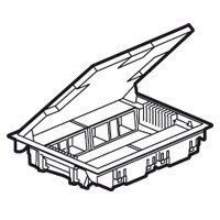 Коробка напольная Legrand 89625