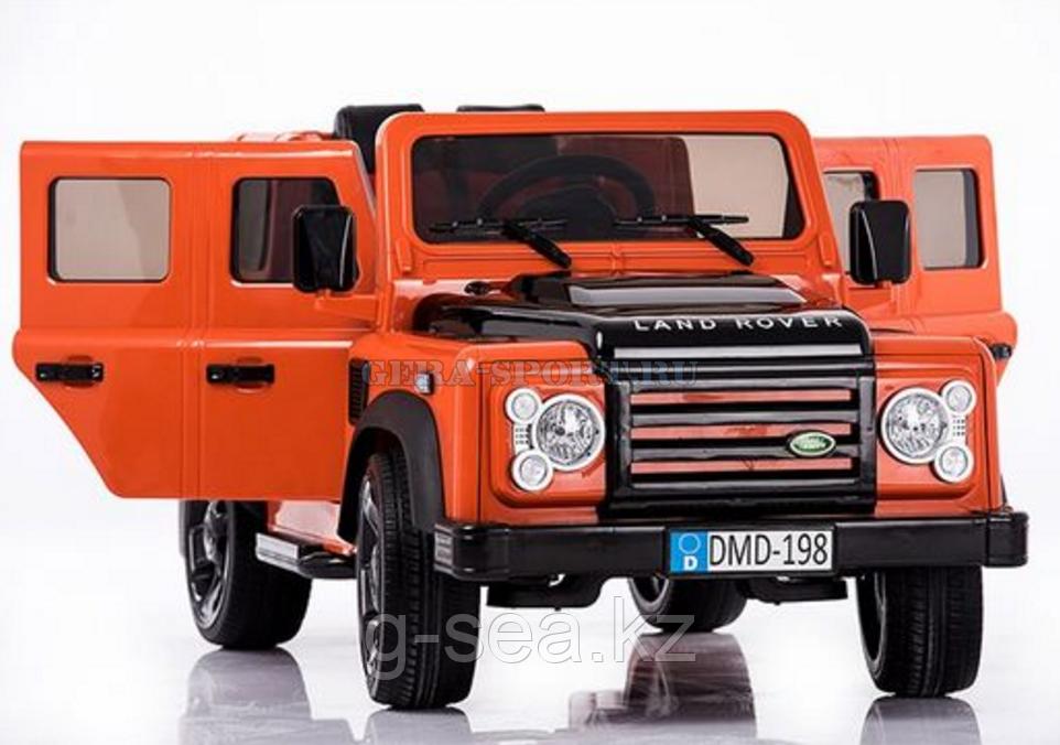 Детский электромабиль Land Rover Defender