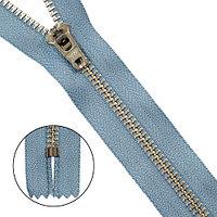 39067/14-3 Молния джинсовая 14 см с/сер. ГР