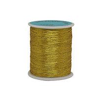 0212-3303 Нитки металлизированные (люрекс), 100 м, упак./12 шт. (FMS3058 золото)
