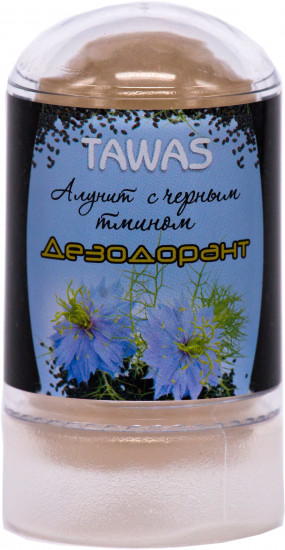 Дезодорант-алунит антибактериальный с черным тмином, 60 г