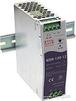 WDR-120-24, Блок питания, вход:1-2х фазное 180-550В, выход 24В,5А,120Вт