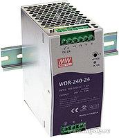 WDR-240-24, Блок питания, вход:1-2х фазное 180-550В, выход 24В,10А,240Вт