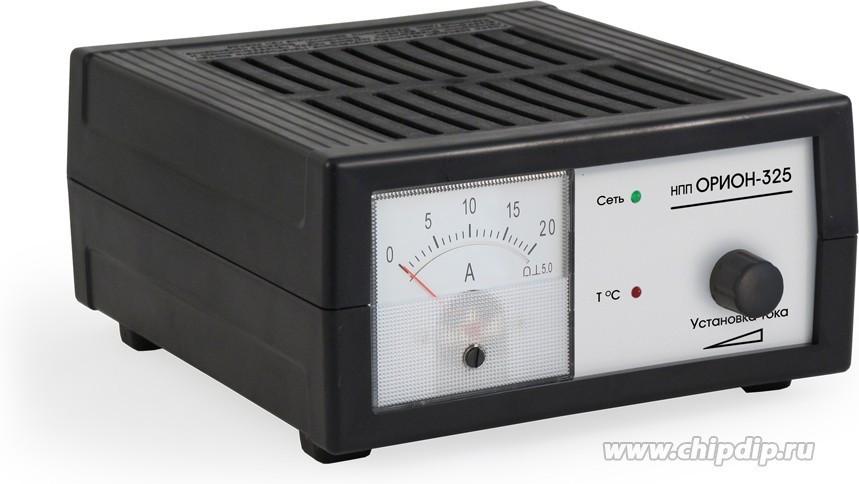 НПП Орион-325, Устройство зарядное для свинцовых аккумуляторов 12В, 0-18А