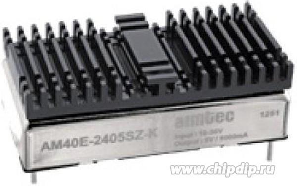AM40E-2405SZ-K, DC/DC преобразователь, 40 Вт, вход 18-36 В, выход 5 В / 8000 мА