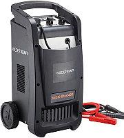 Пуско-зарядное устройство WIEDERKRAFT WDK-Start400 запуск авто и зарядки акк. 12/24в, 220в,Вес 17кг