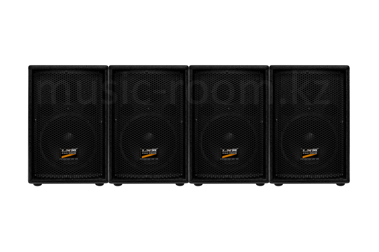 LNM Protech S08 Двухполосная акустическая система комплект из 4-х колонок мощностью 1000 Ватт