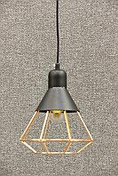 LOFT светильник одноламповый черный, фото 1