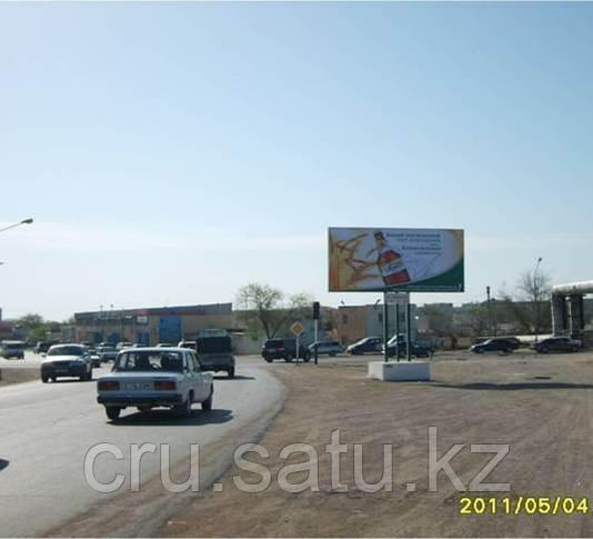 22 мкр., перекресток на поселок Приозерный