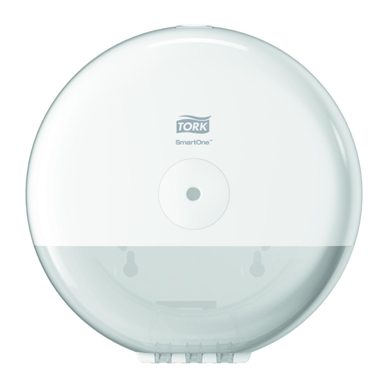Диспенсер для туалетной бумаги в мини-рулонах Tork SmartOne, белый 681000